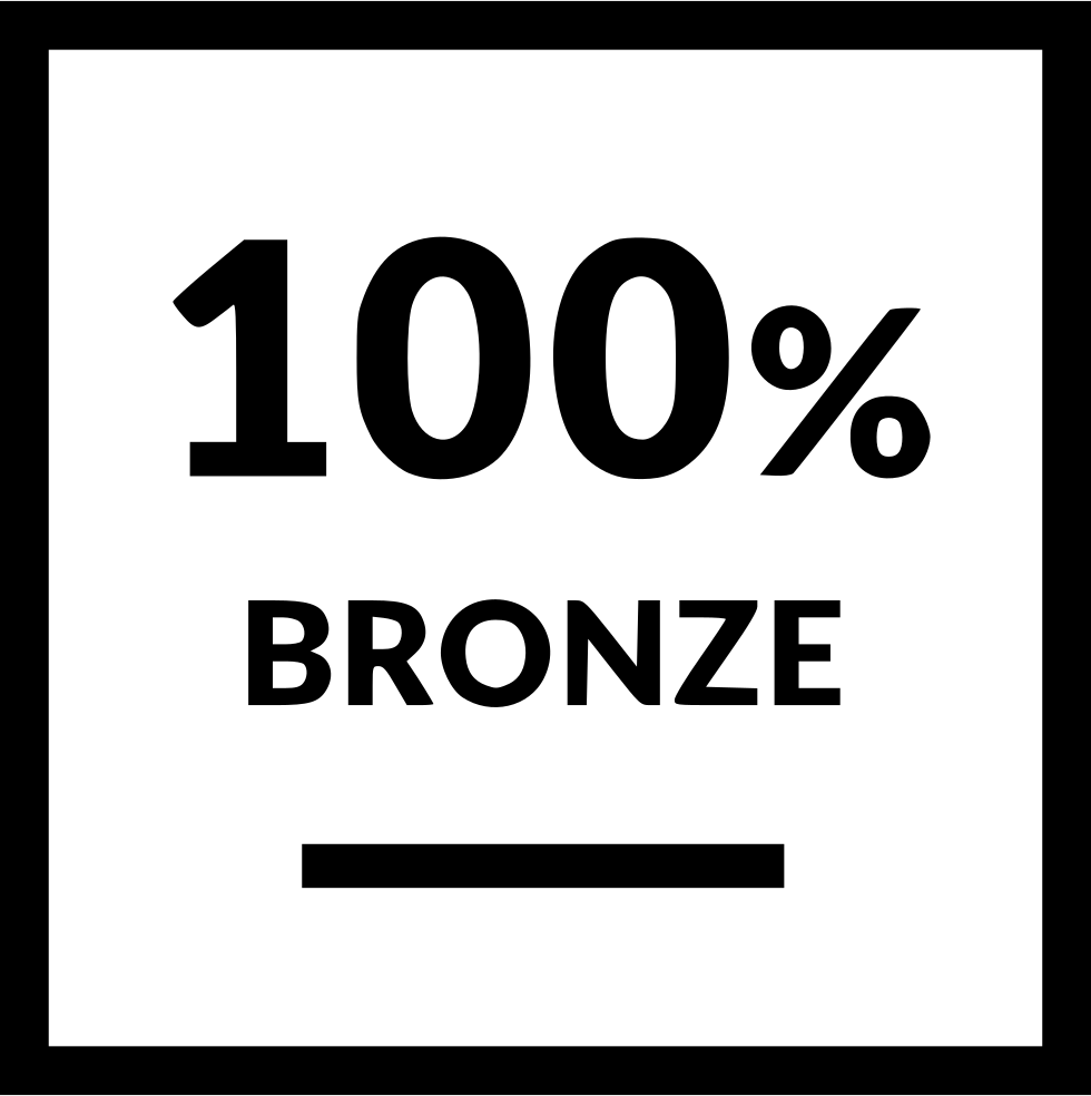 Bronze Label Percent