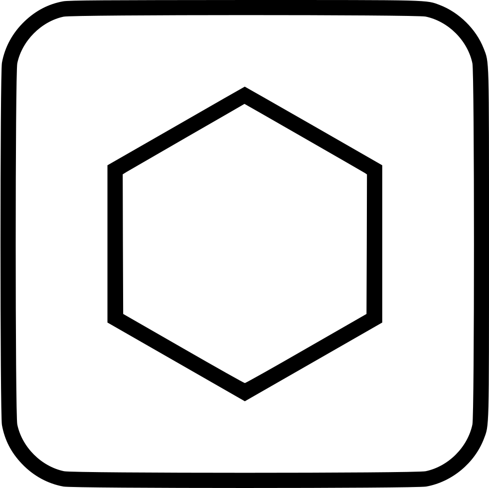 Hexagon Svg Png Icon Free Download (#526120