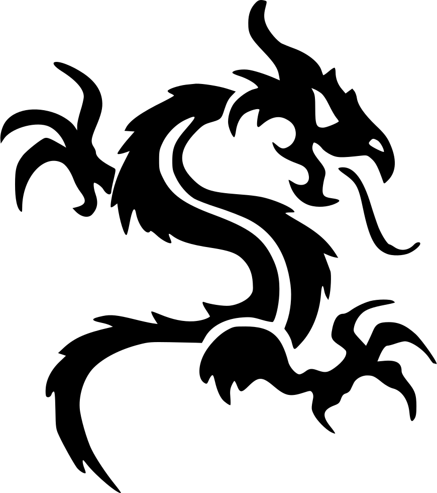 Dragon Fire Tattoo Celtic Animal