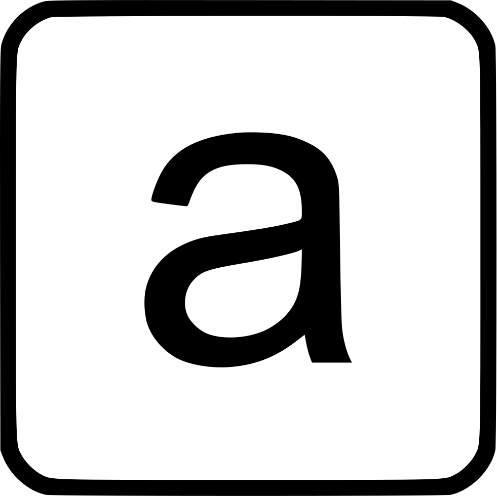 Alphabet Lowercase A
