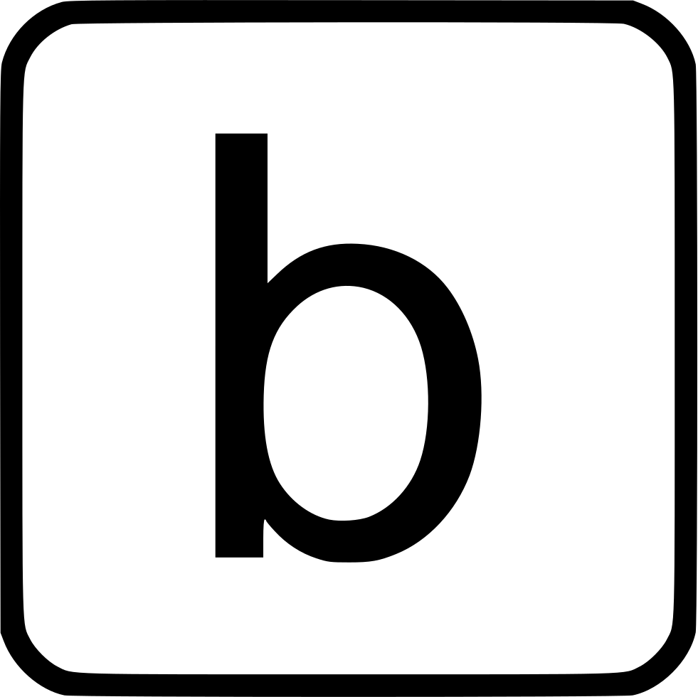 Alphabet Lowercase B