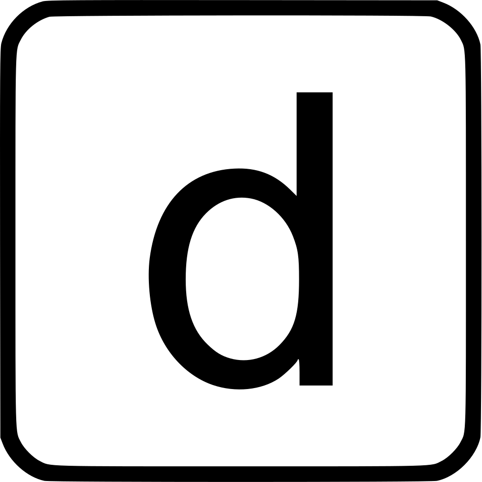 Alphabet Lowercase D