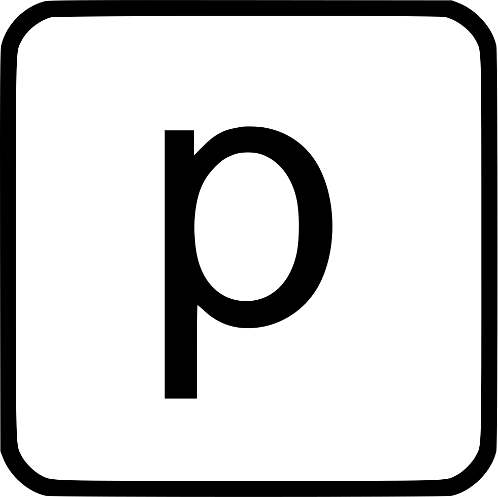 Alphabet Lowercase P