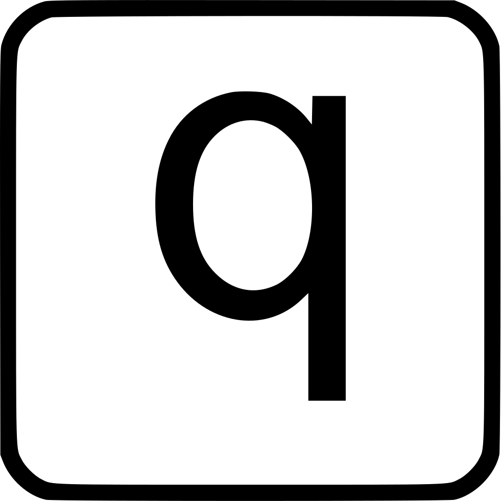 Alphabet Lowercase Q