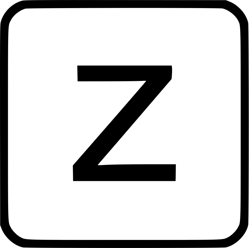 Alphabet Lowercase Z