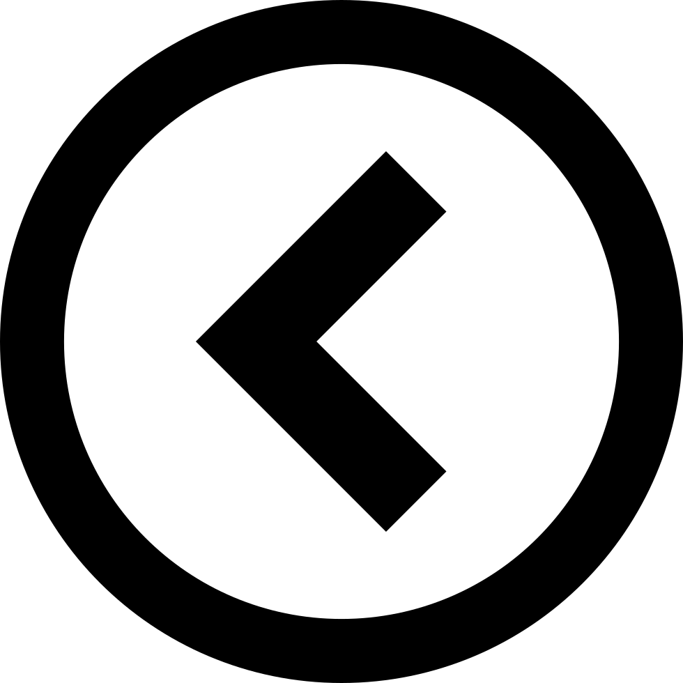 Circle-left Left Circle-previous Arrow