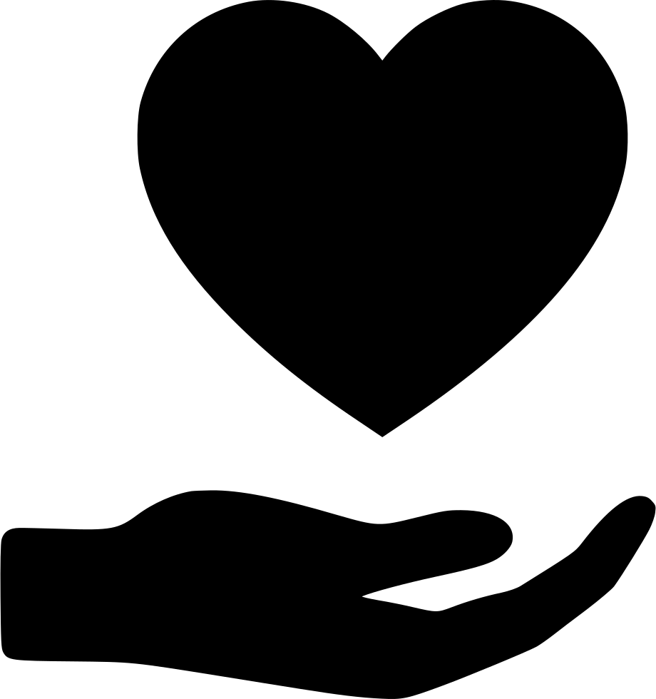 Hand Heart Svg Png Icon Free Download (#529409 ...
