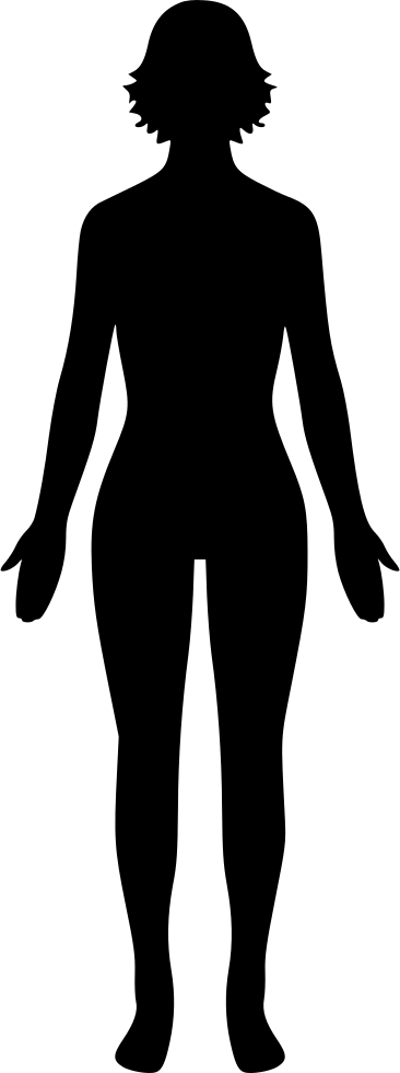 Human Body Female Svg Png Icon Free Download 529420 - Onlinewebfontscom-8521