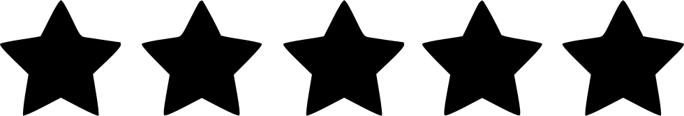 Image result for five stars black