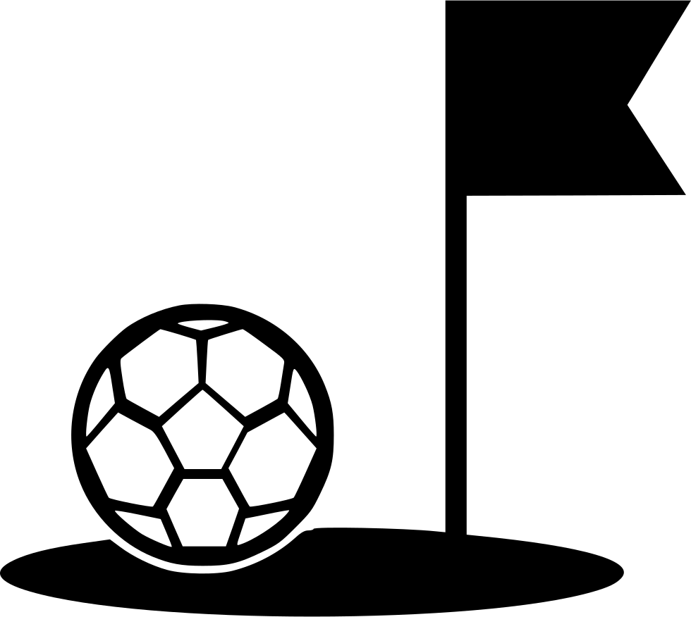 Foot Field Soccer Flag Border Game