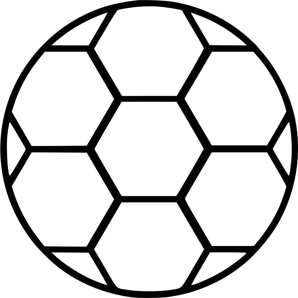 Soccer Ball Svg Png Icon Free Download (#532123 ...