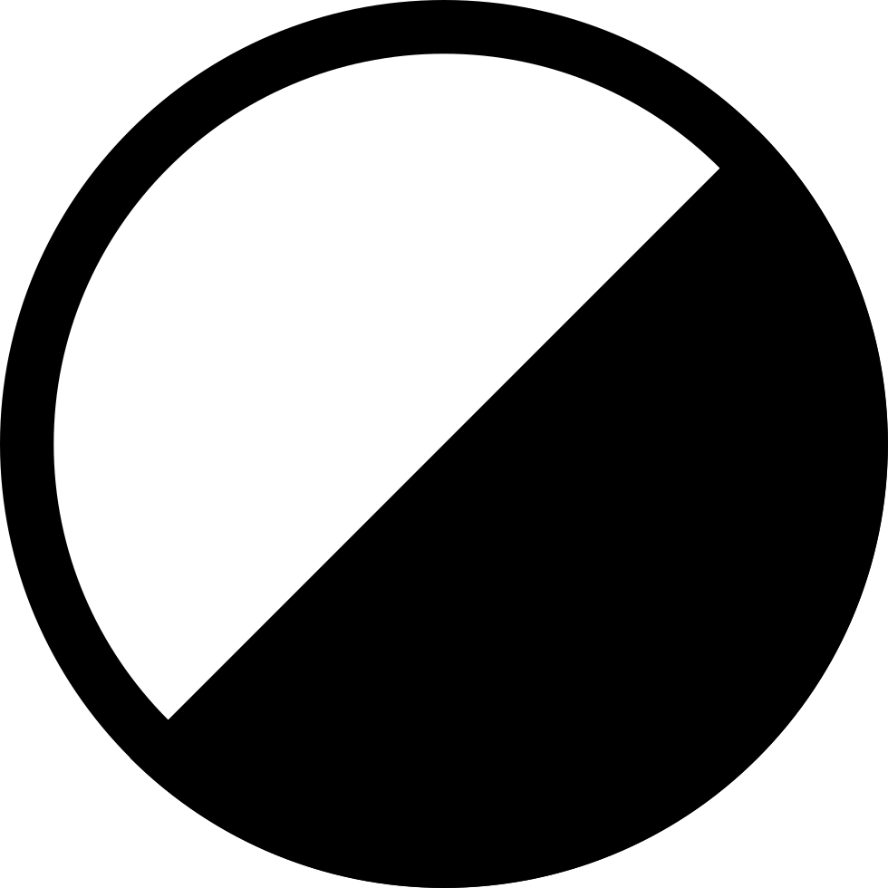 Contrast Rotated Symbol
