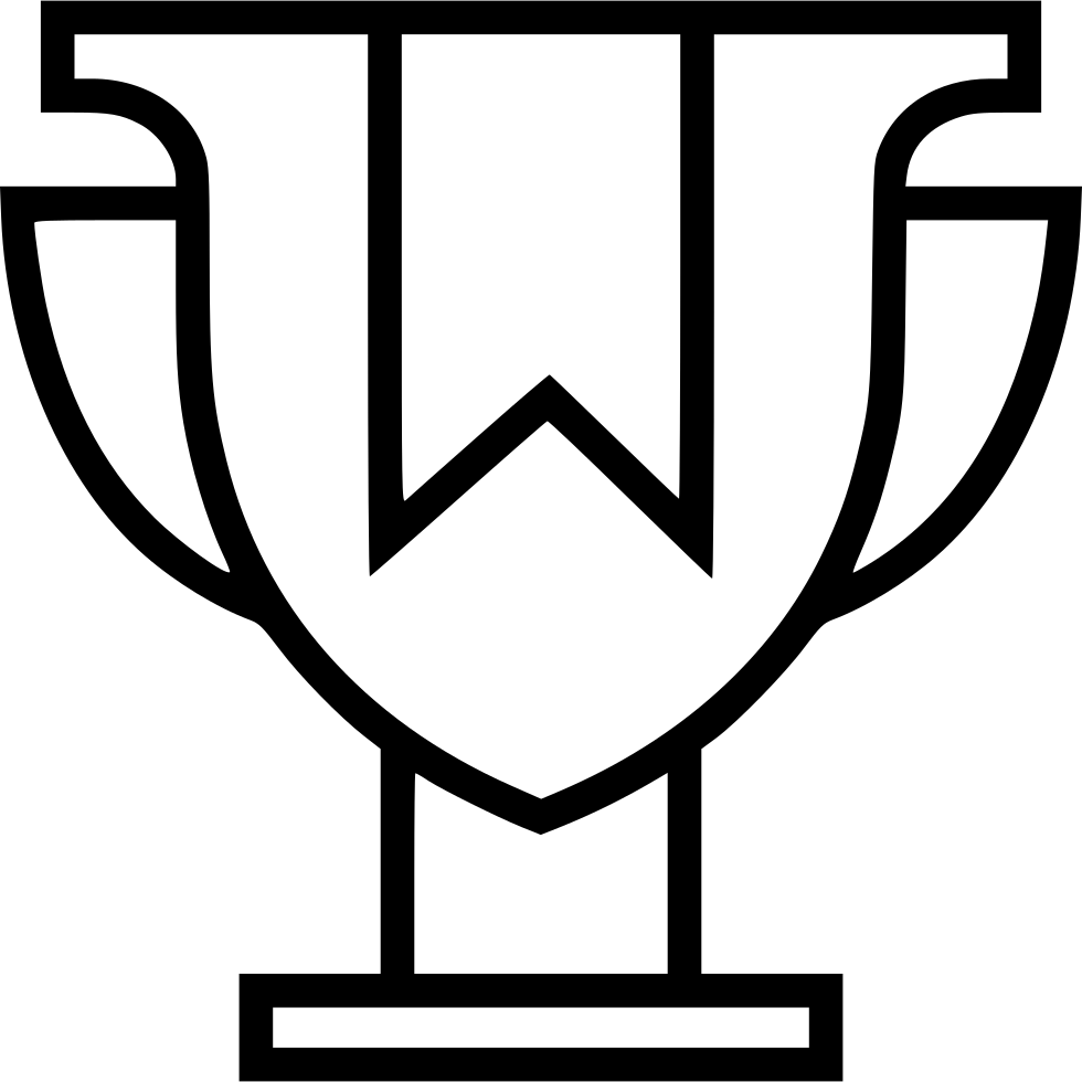 Ribbon Trophy Award