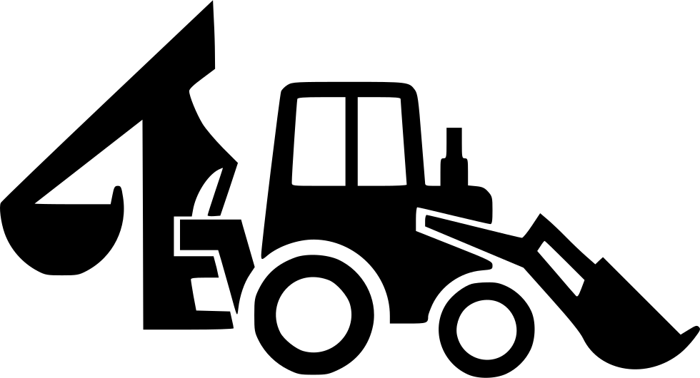 Backhoe Loader Svg Png Icon Free Download 537713