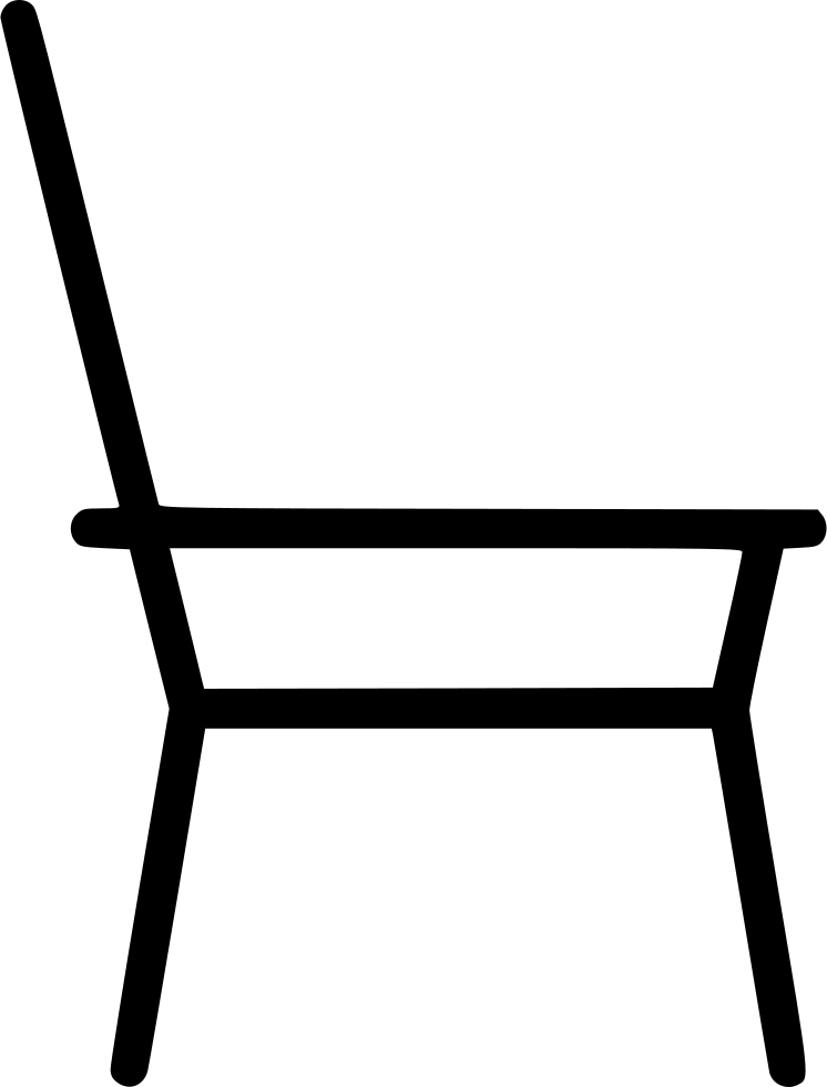 Chair Simple Sketch Furniture Home