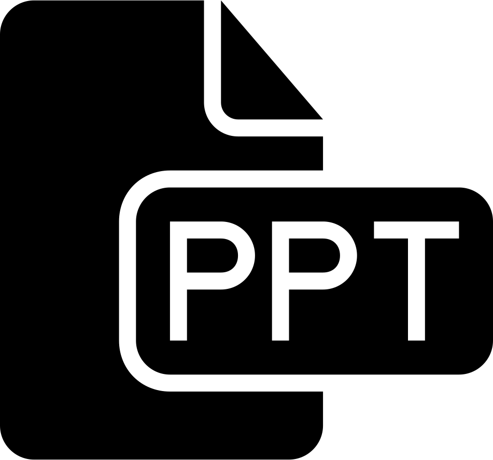 Ppt File Solid Interface Symbol