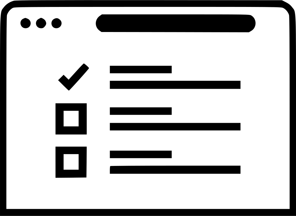 Check Mark Www Wireframes Web