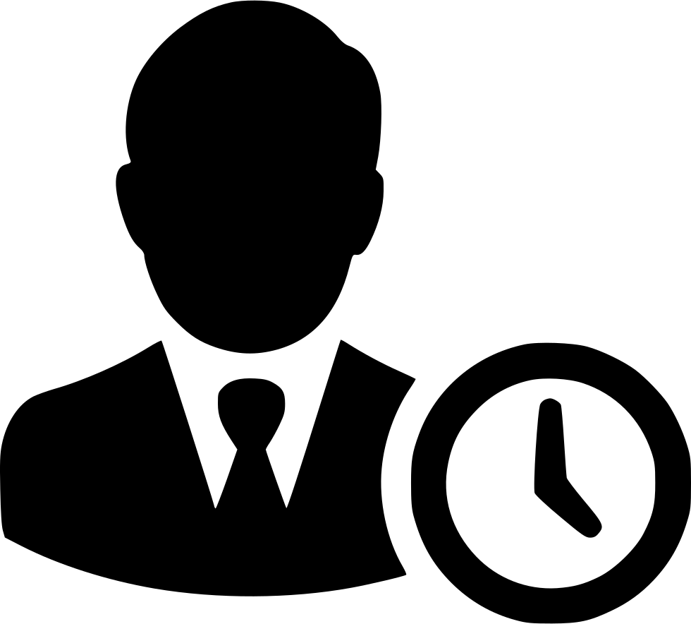 Work Time Clock Working Management Svg Png Icon Free