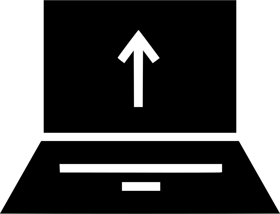 Laptop Up Arrow