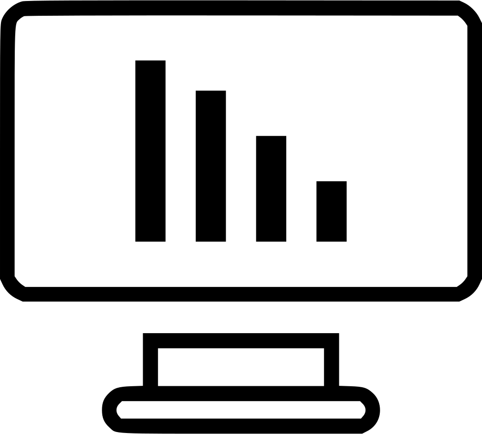 Bars Computer Monitor Analytics Online