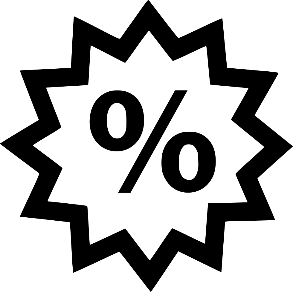 Percentage Savings Save Percent Shop