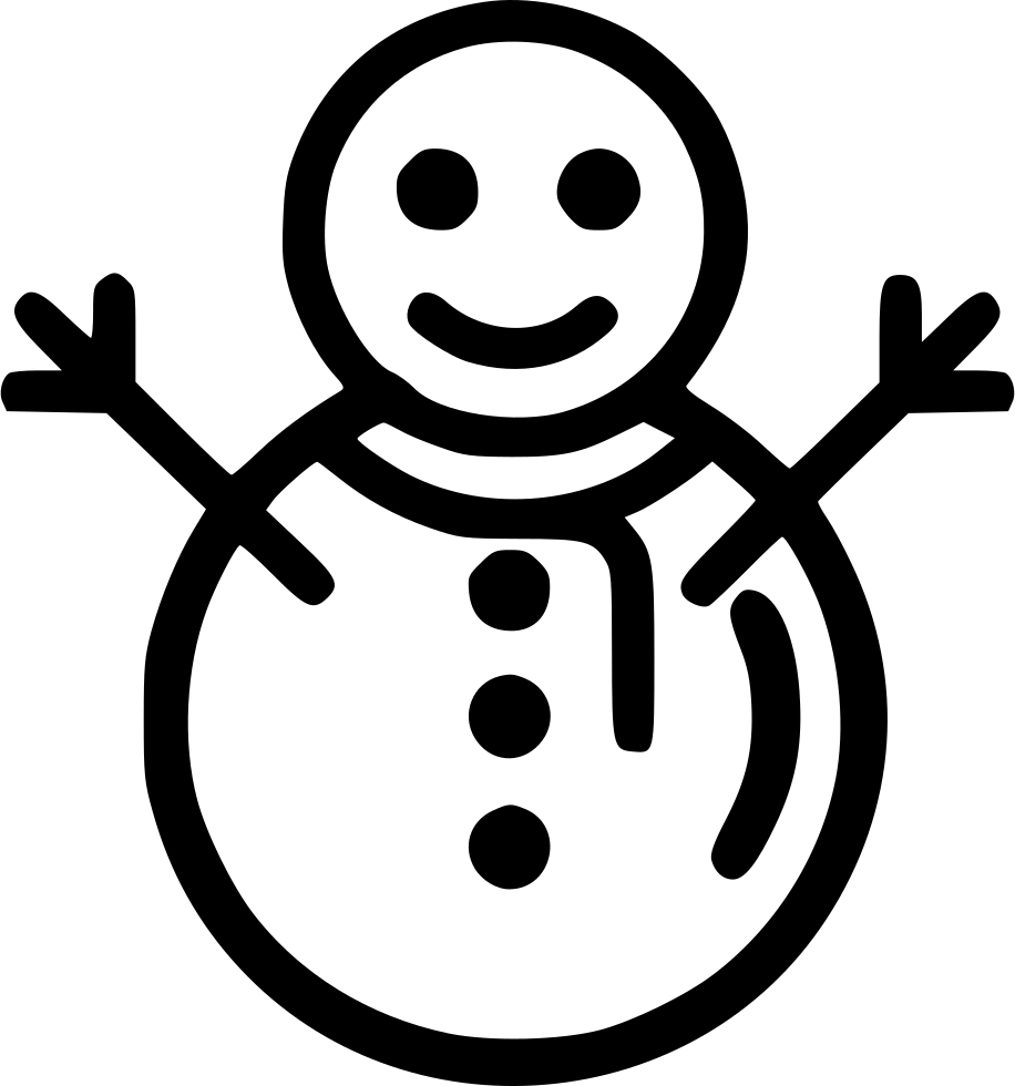 Christmas Snow Winter Snowman