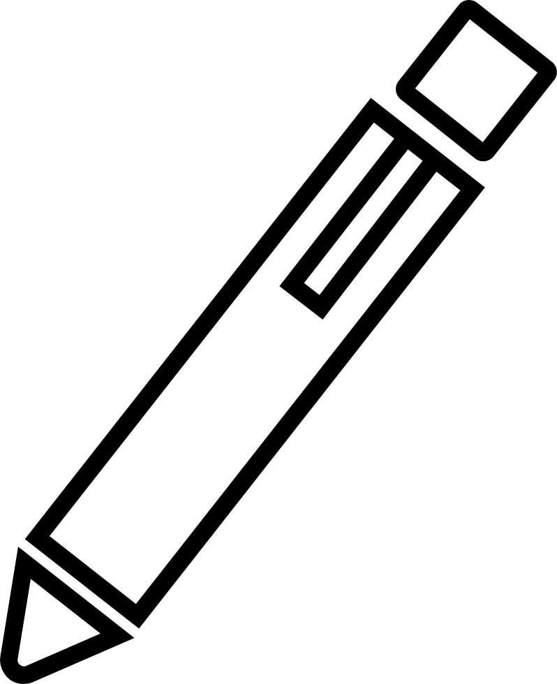 Pen Outline Edit Interface Symbol