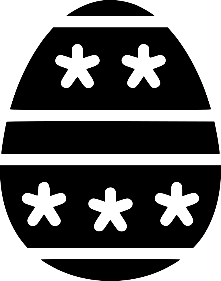 Egg Paschal Decorated Decoration Dots Stripes