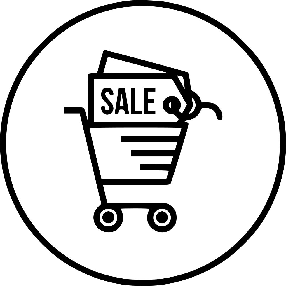 Shop Cart Shopping Sale Offer Discount Finance