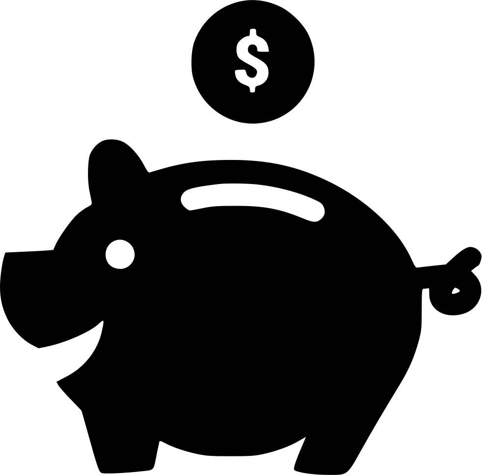 Piggy Bank Svg Png Icon Free Download (#553351 ...