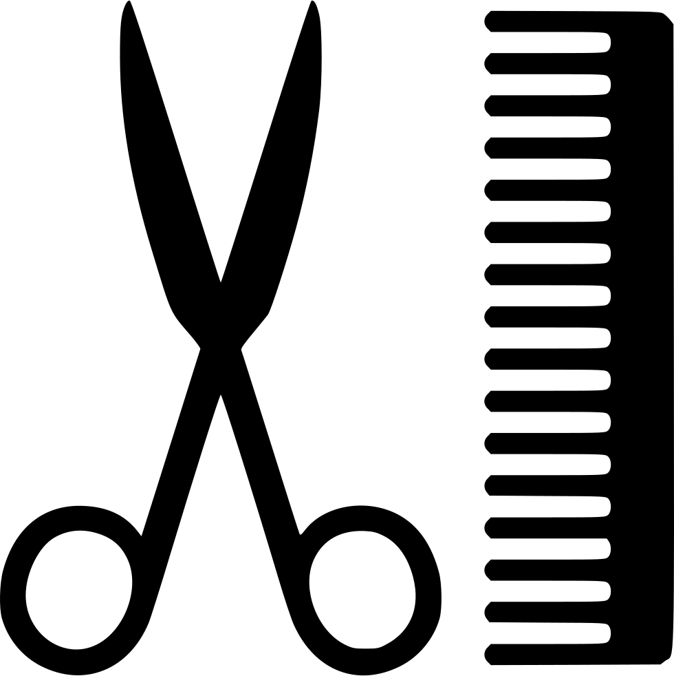 Scissors Comb Svg Png Icon Free Download (#554144 ...