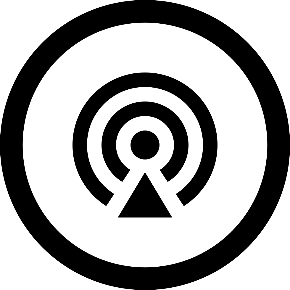 Podcast Circular Button