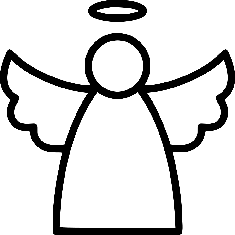 Angel Line Svg Png Icon Free Download 557167