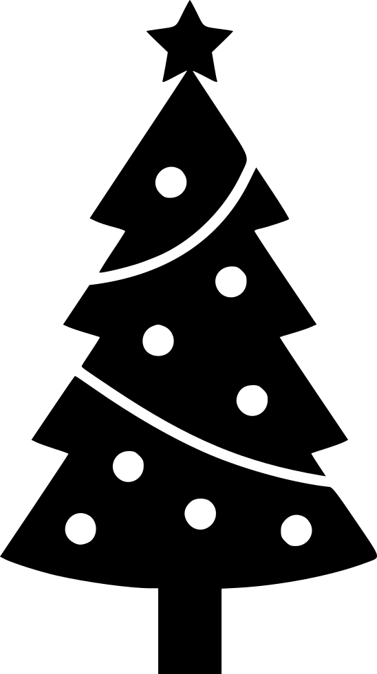 Christmas Tree Svg Png Icon Free Download (#557185 ...