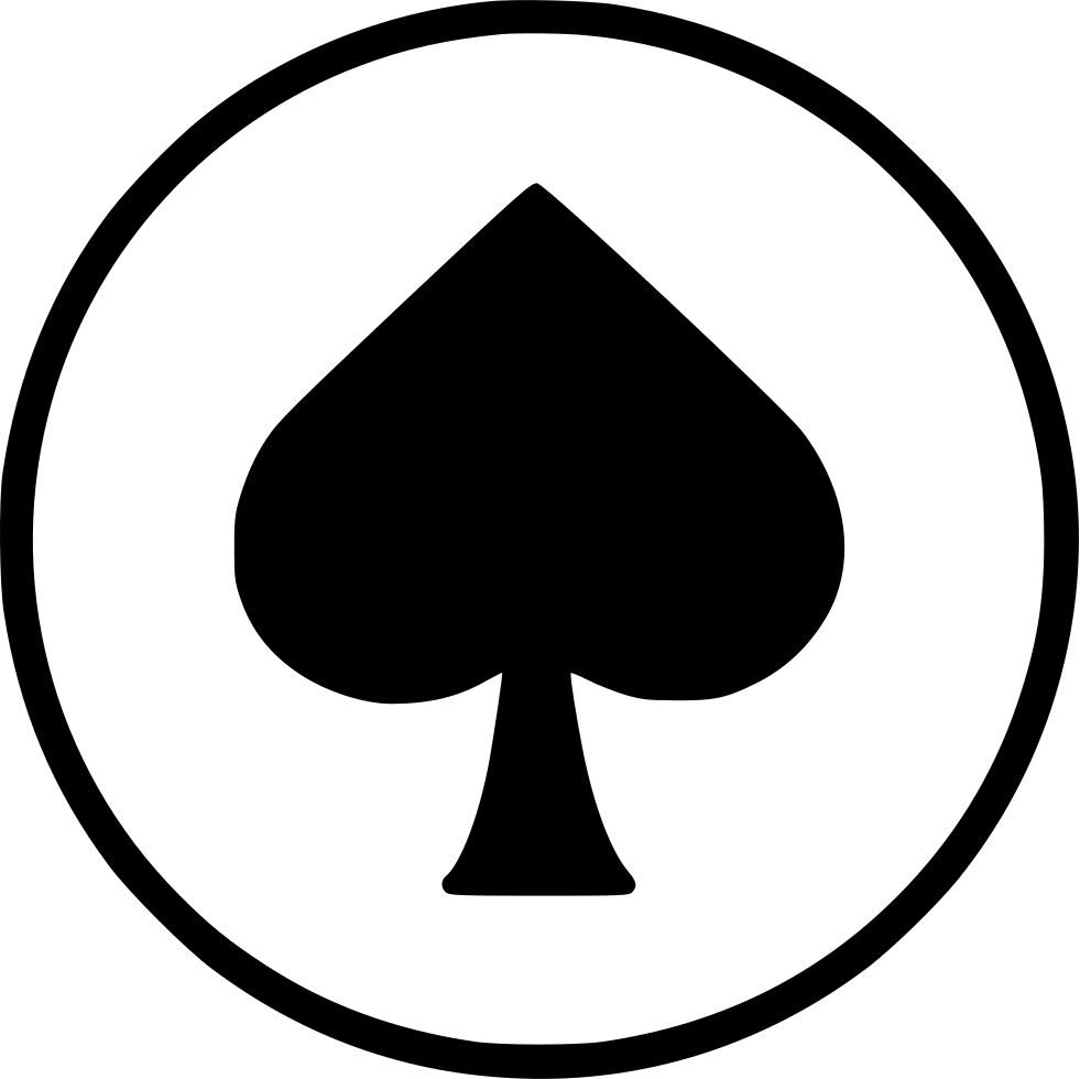 Card Spade Poker Casino Playing Gamble Blackjack