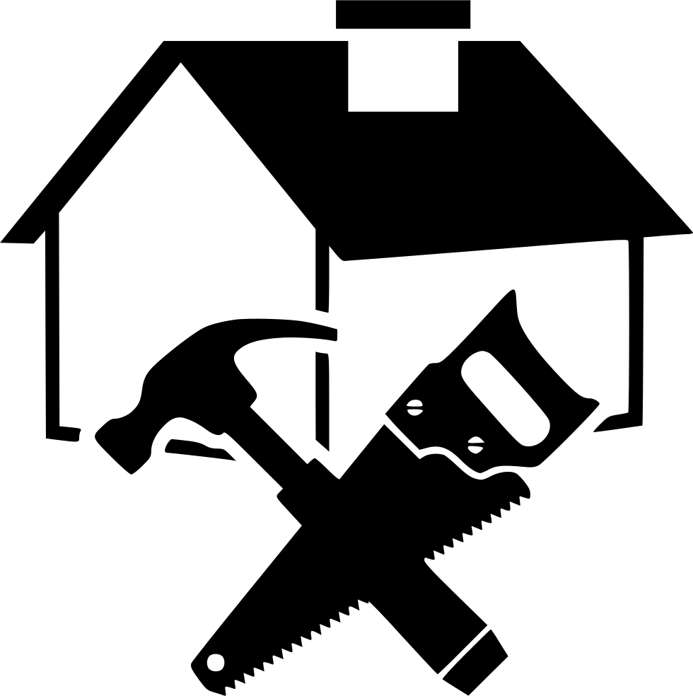 House repair carpenter builder svg png icon free download for House builder online free
