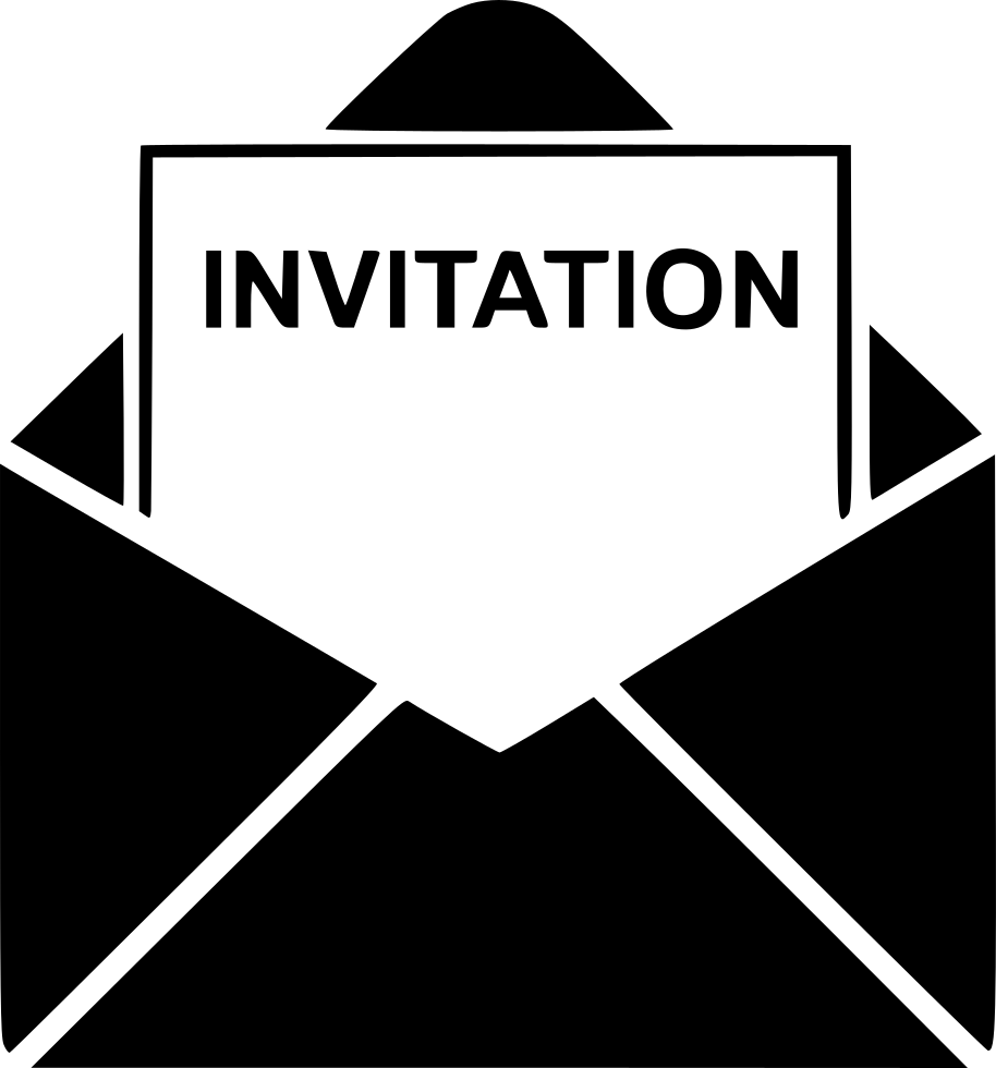 invitation svg png icon free download   562642