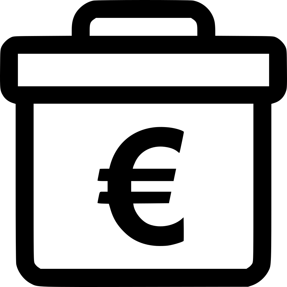 Briefcase Case Professional Pro Euro Sign Currency