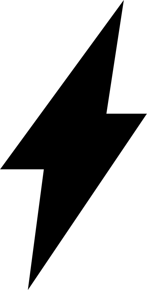 Lightning Bolt Symbol Of Flash