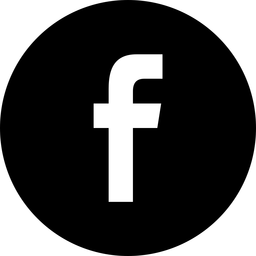 facebook black social button circle svg png icon free download   56684