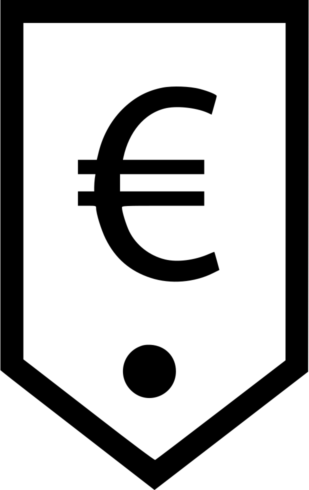 Euro Sign Tag Ecommerce Store