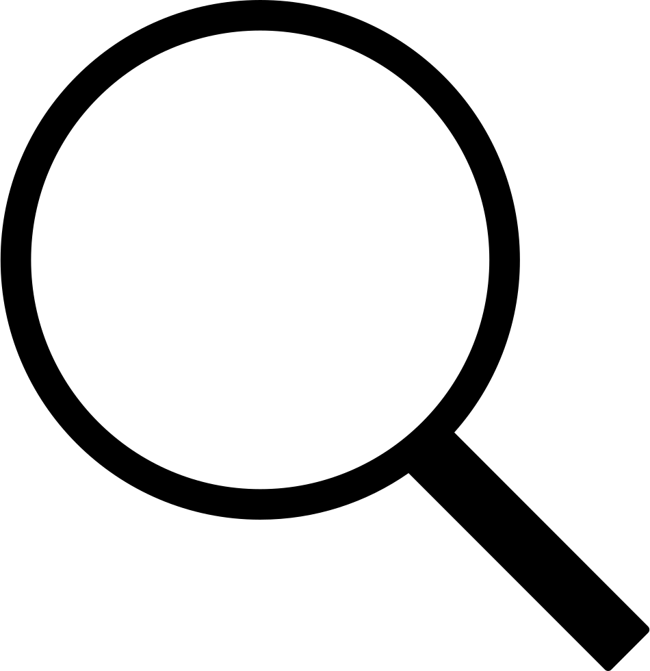 Search Magnifier Interface Symbol