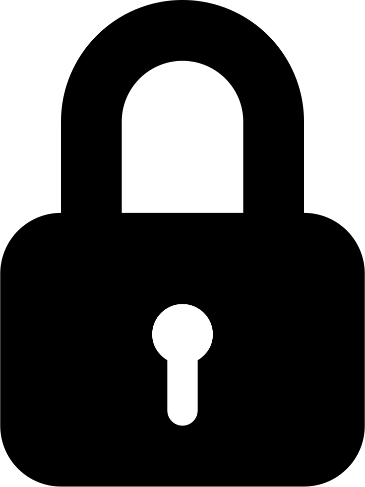 Lock Padlock Symbol For Protect