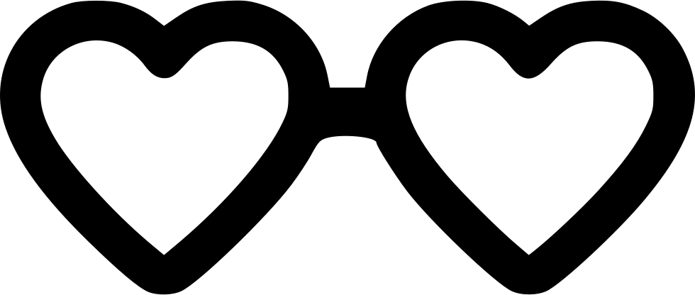 Day Heart Glasses