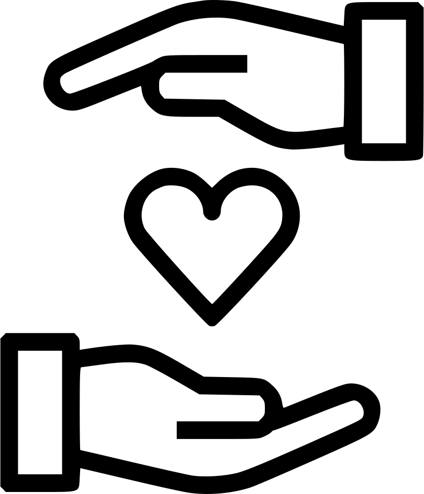 care caring hands day svg png icon free download   573177 web icon vector png web icon vector white
