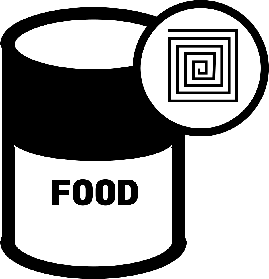 Food Can With RFID Label