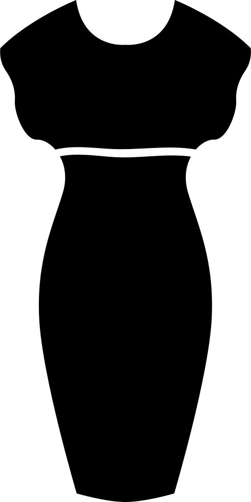 Female Sexy Dress Silhouette