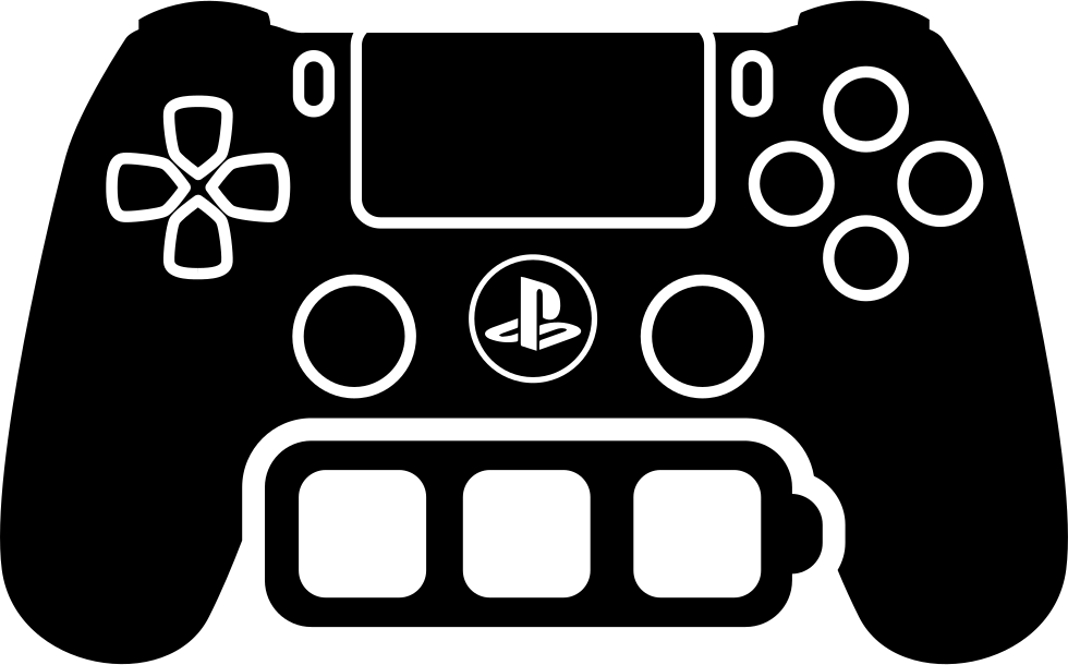 Game Control Tool With Full Battery Symbol