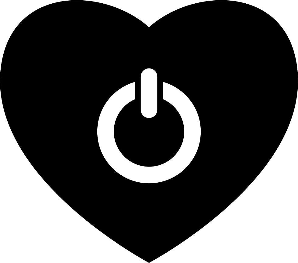 Heart Shaped Power Button