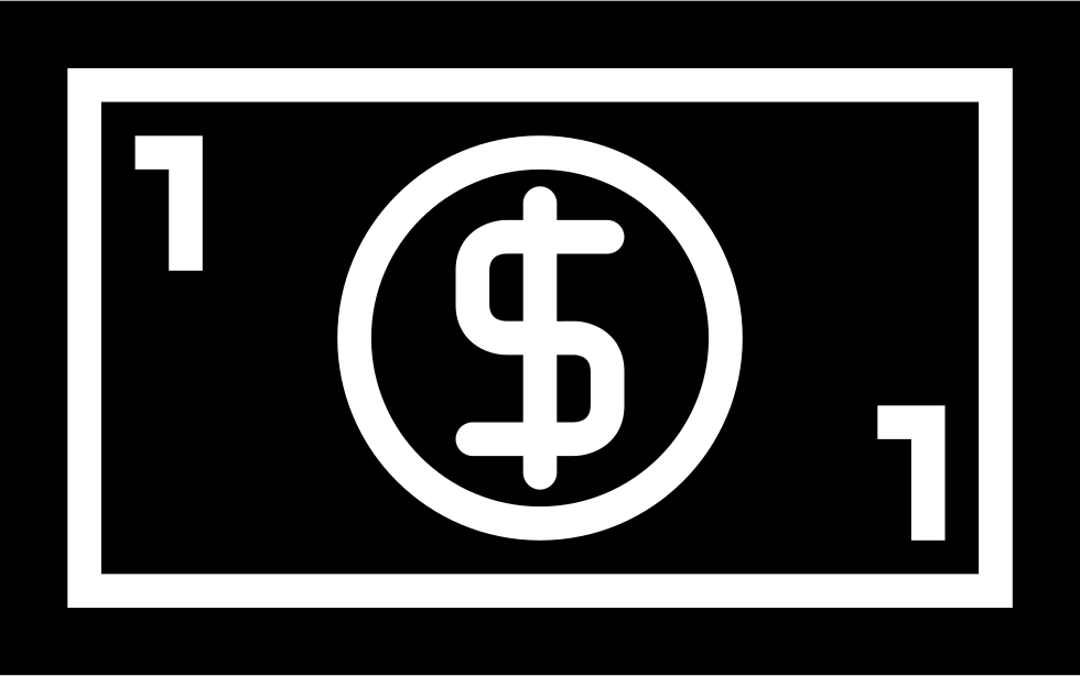 Bill Of 1 Dollar Svg Png Icon Free Download (#60730 ...